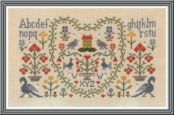 New Antique Sampler
